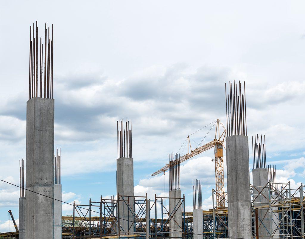 Concrete Piles Installation